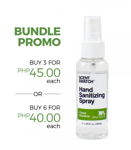 Hand Sanitizing Alcohol Spray 50ml